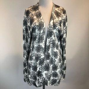 Stitch Fix Market Spruce Floral Linen Cardigan XL